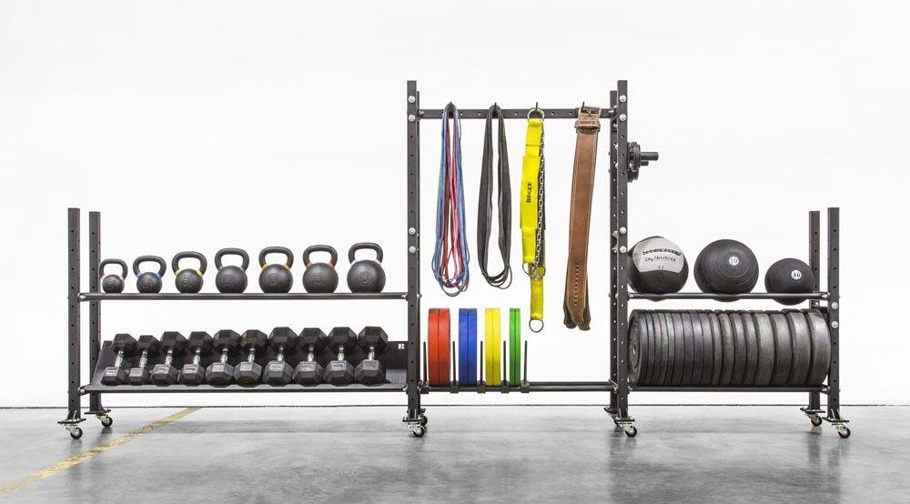 2 Tier Mass Storage System 70 No Equipment Workout Rogue Fitness Home Gym Design