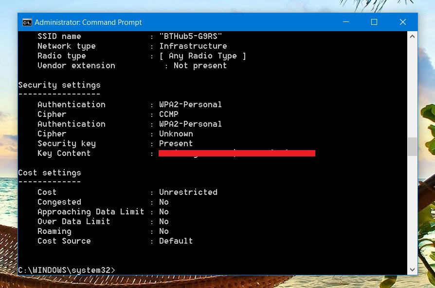how to hack wifi using cmd in windows 7