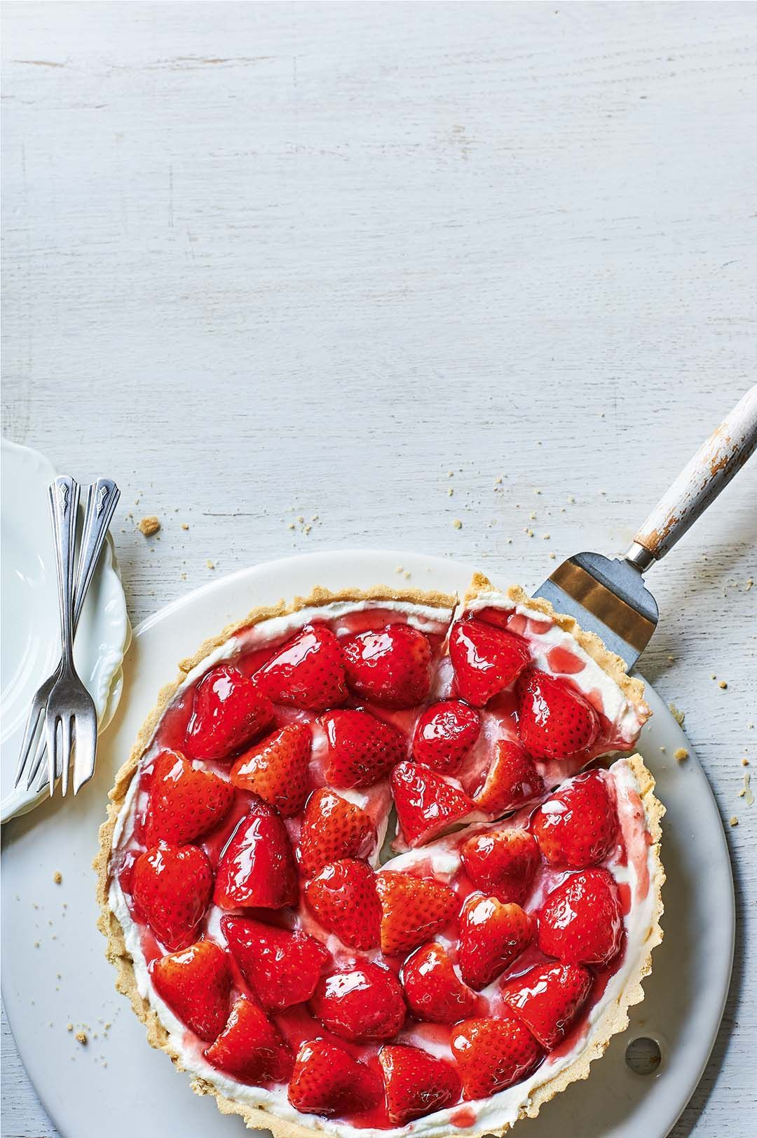 British strawberries. They taste pretty good on their own
