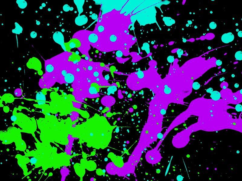 neon splatter paint wallpaper | sharpie mood board | pinterest