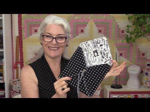 How to Make Fabric Envelopes - YouTube