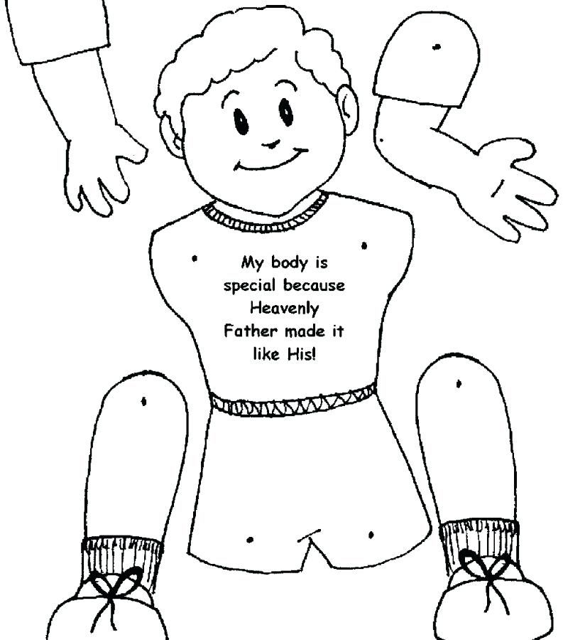 Kick Buttowski Coloring Pages Body Coloring Page Parts For