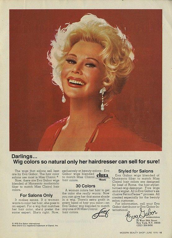 Eva Gabor   Elura wigs  56214a351