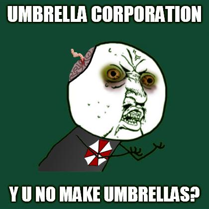 Umbrella Corporation By 13thmurder Resident Evil Resident Evil Game Funny Memes