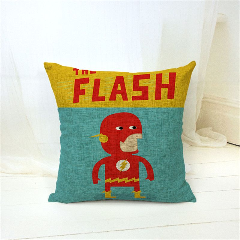 Ikea Decorative Pillows Delectable Ikea Decorative Throw Pillows Case Superhero Captain America Batman Inspiration Design