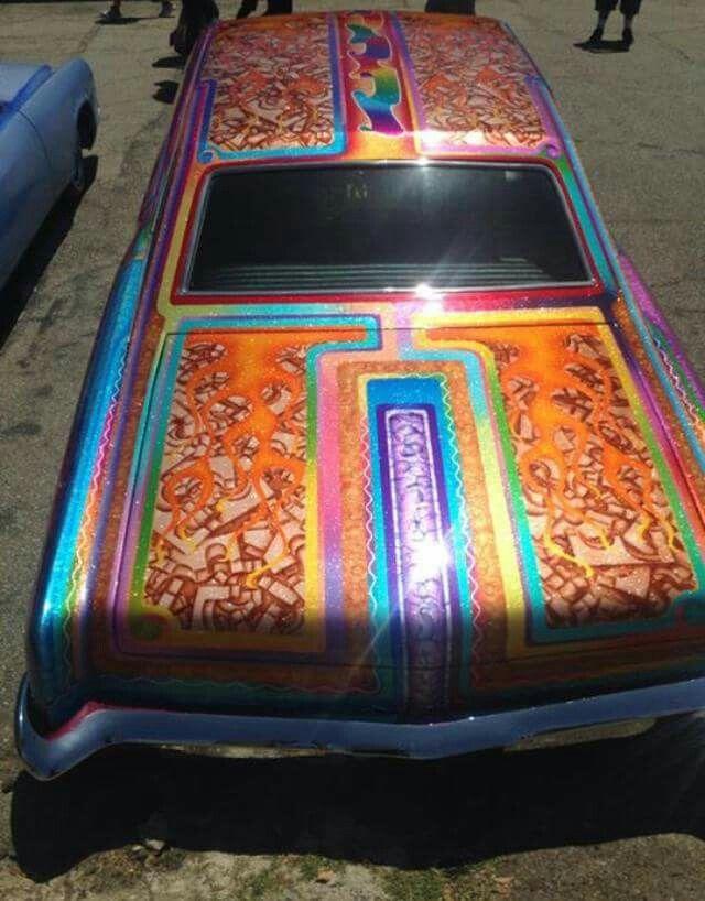 Pin By Fawnya On Car Stuffs Kustom Paint Custom Paint Jobs Custom Paint