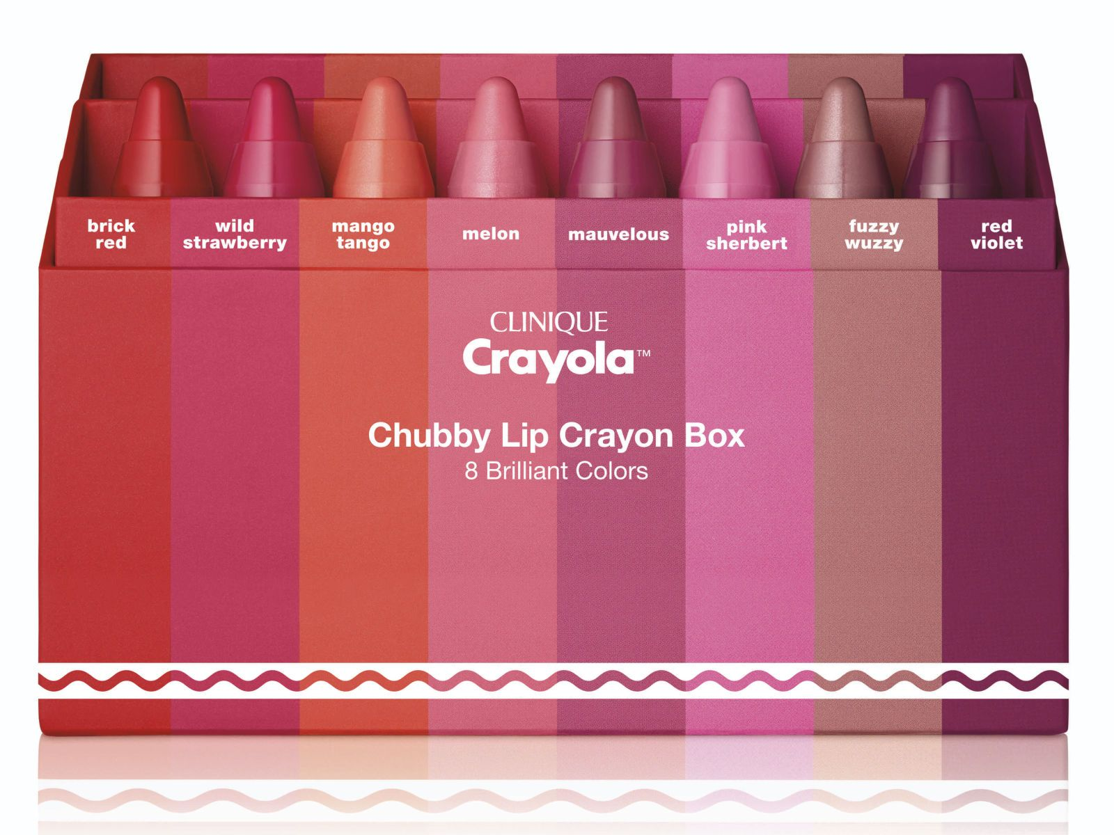 Clinique has teamed up with Crayola Clinique crayola