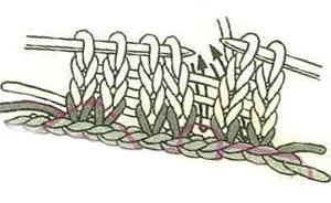 эластичный набор резинка 2х2