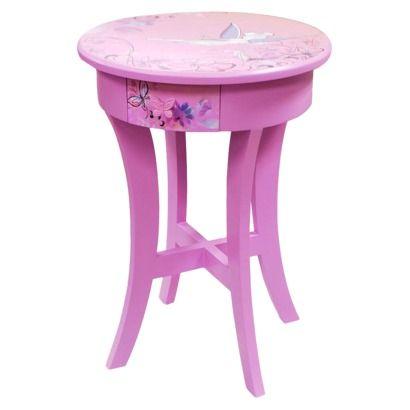Accent Table Purple | Adriana\'s Disney Princess Room | Pinterest