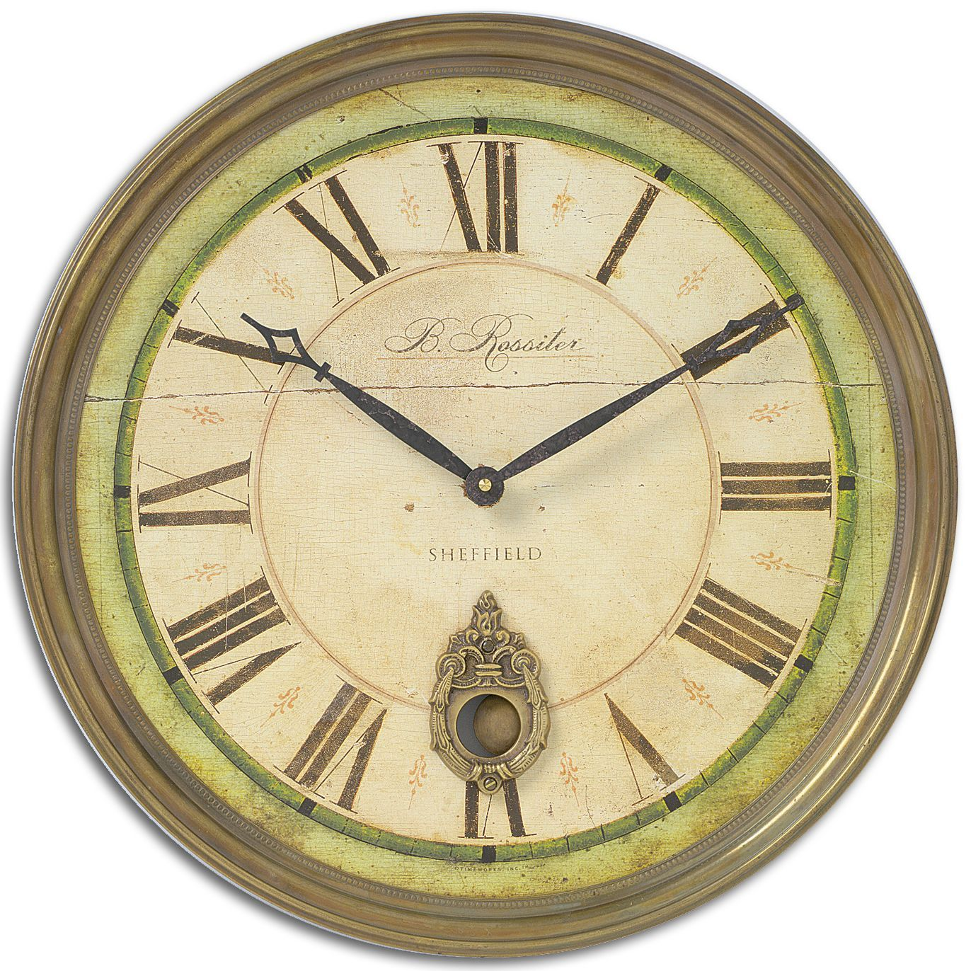 Uttermost Regency \'B. Rossiter\' Weathered Wall Clock (Regency B ...
