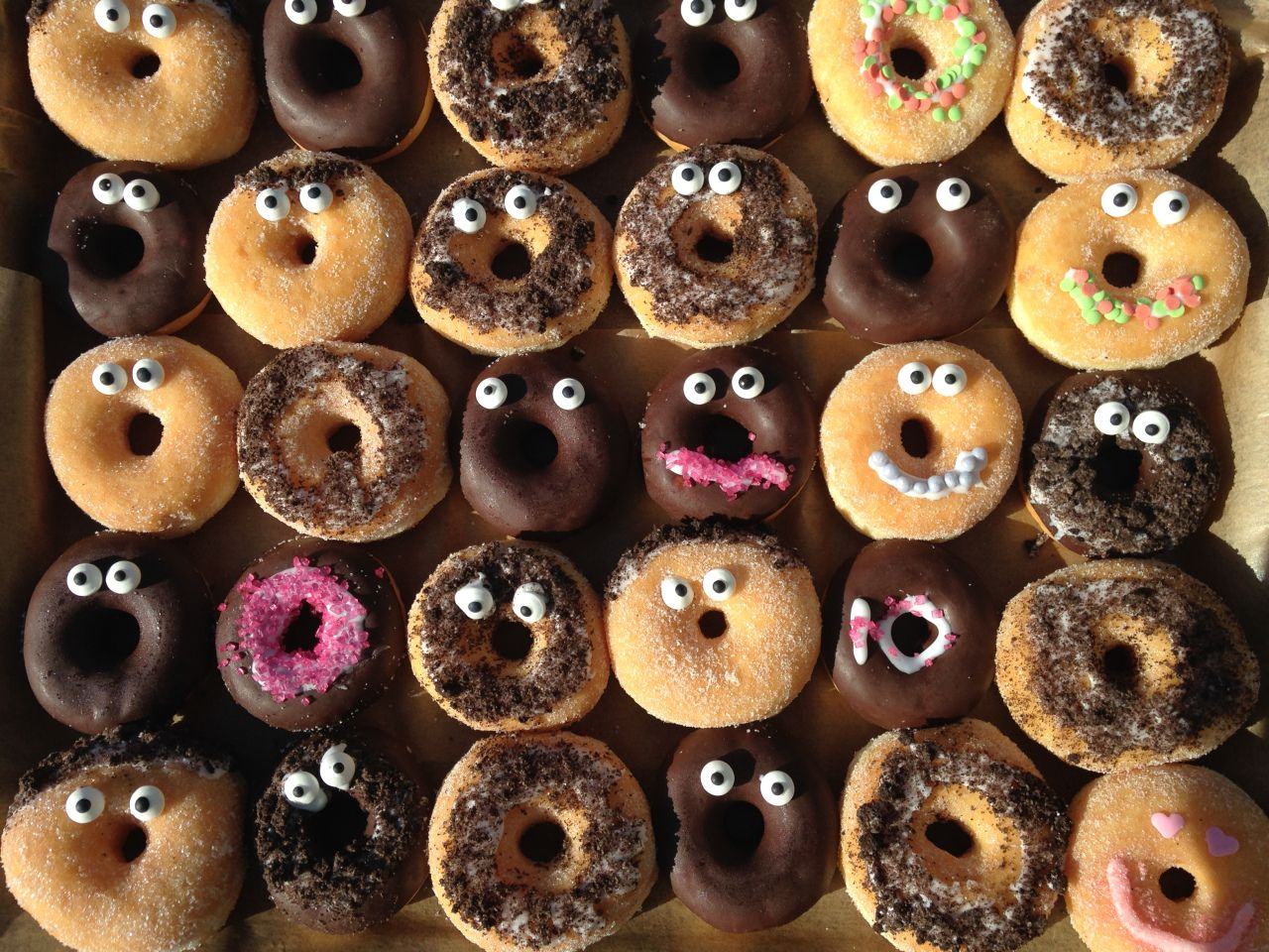 Traktatie donuts