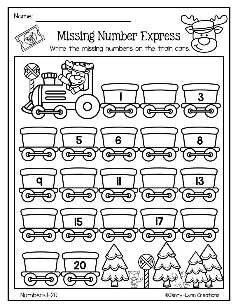 December Pre K Math Literacy Preschool Math Worksheets Math Literacy Kindergarten Math Worksheets [ 1056 x 816 Pixel ]