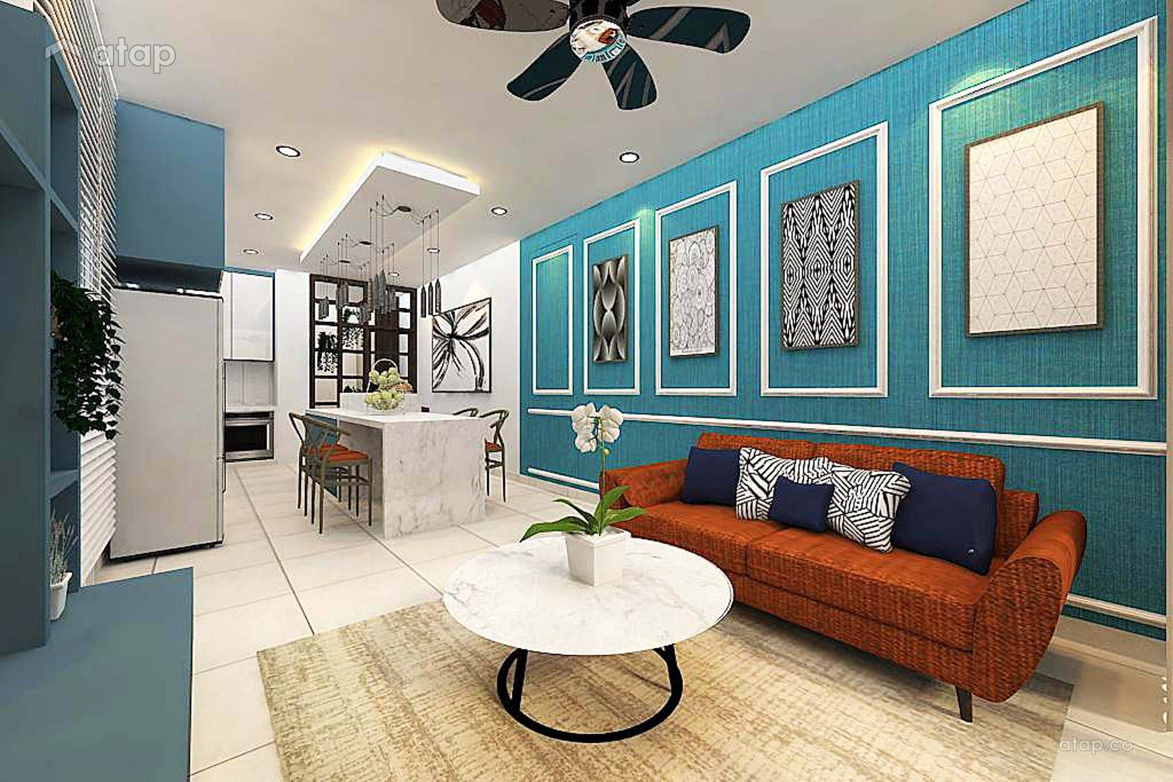 Amberside Unit Country Garden Danga Bay Interior Design Renovation Ideas Photos And Price In Malaysia Apartment Living Room Apartment Design Interior Design