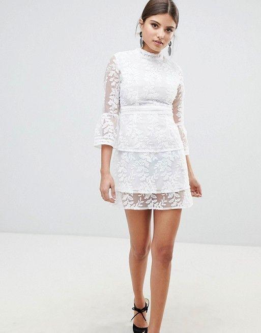 e7a5a1c20f84b Lace dress Style Embroidery dress Fashion Lace embroidery