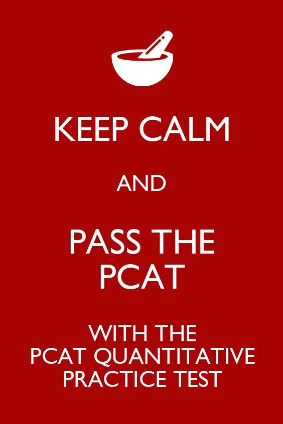 The PCAT Quantitative Reasoning practice test is