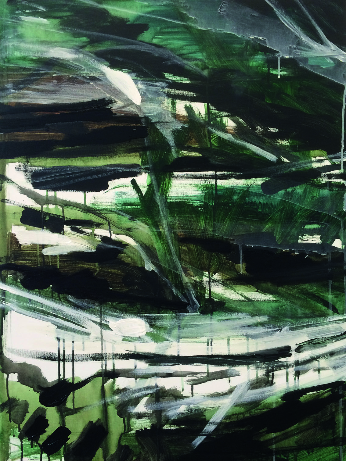 RIET 70 x 100 impressie acryl op doek Jan C 04 2016