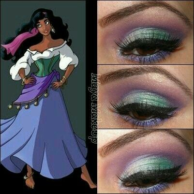 Esmeralda Genie Costume, Gypsy Costume, Costume Makeup, Gypsy Makeup, Mary Kay Makeup