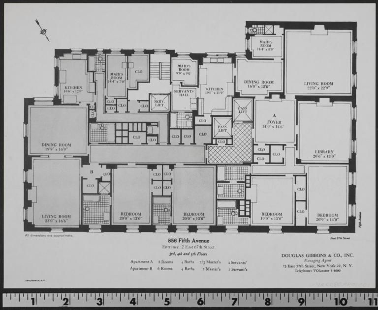 855 Fifth Avenue 3rd 4th And 5th Floors Columbia Digital Library Collections Real Estate Brochures Real Estate Digital Library
