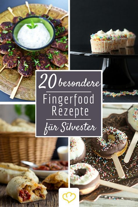 fingerfood deluxe 20 rezepte f r die silvesterparty essen pinterest silvester fingerfood. Black Bedroom Furniture Sets. Home Design Ideas