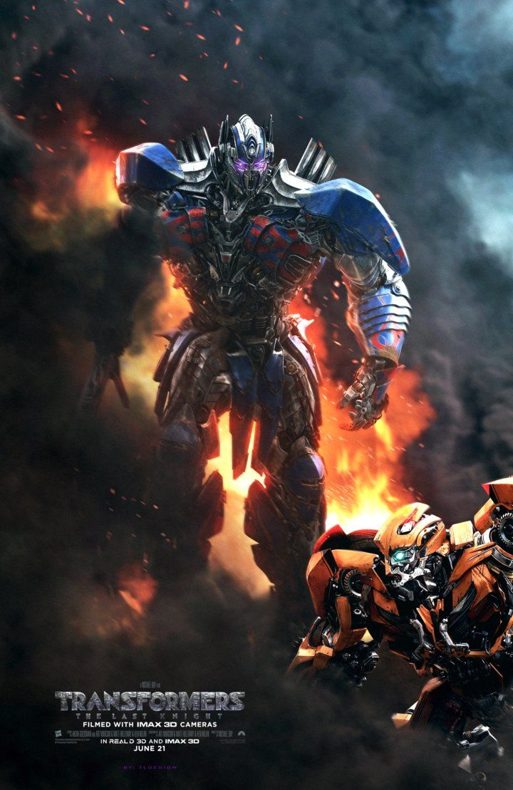 Transformers The Last Knight Poster Fan Made By Tldesignn