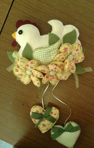 Gallina fiorita