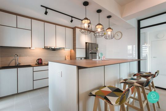 12 Must See Ideas On 4 Room 5 Room Hdb Renovation Kitchen Design Kitchen Interior Interior Design Singapore Living room and kitchen means