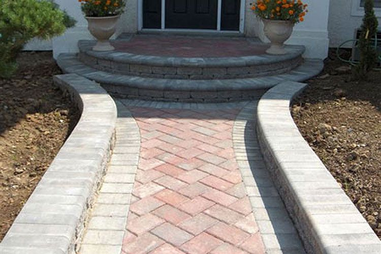 Cambridge Pavingstones Design Gallery Paver Steps Outdoor Steps Pavingstones