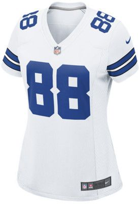 bf8104f9a Nike NFL Dallas Cowboys Dez Bryant Womens Football Home Game Jersey -  White