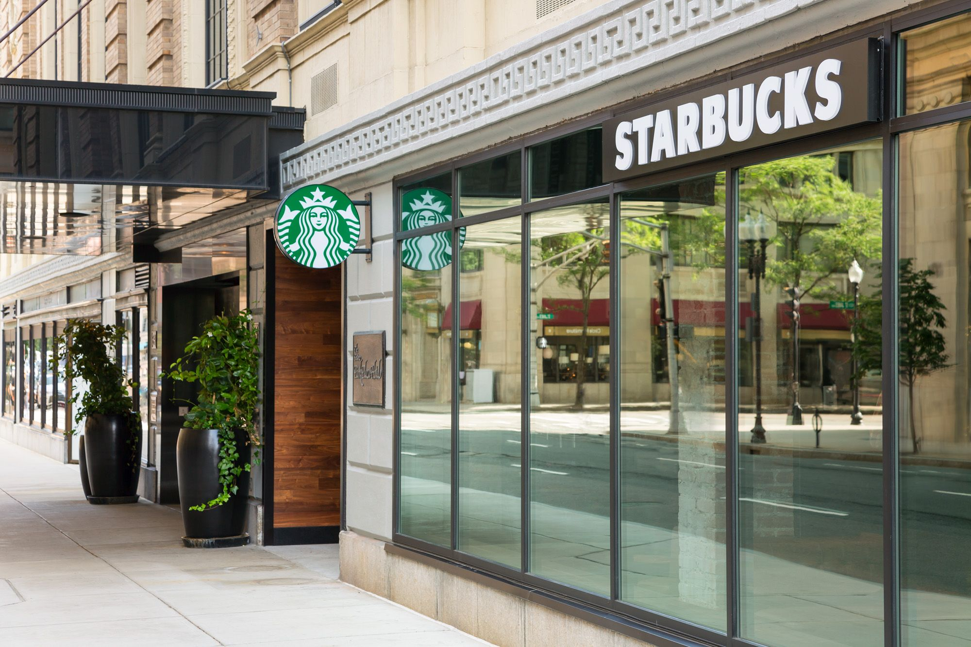 Starbucks At Boston Park Plaza The Boston Park Plaza Hotel