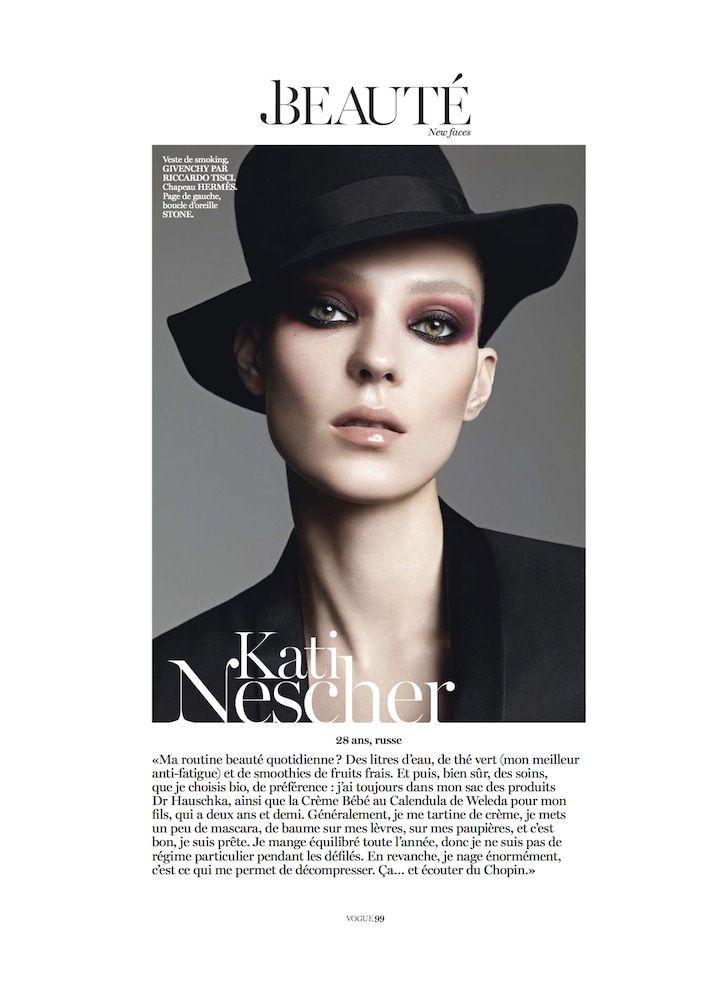 beauty editorial November 2012