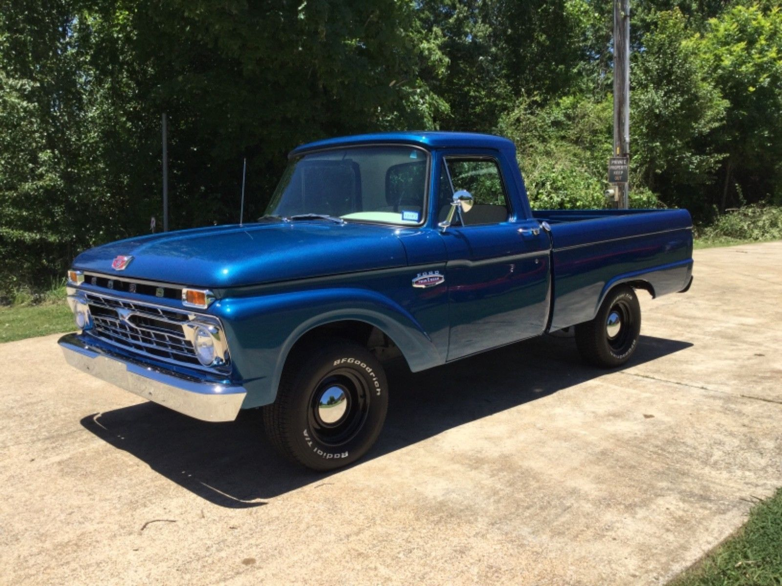 Ebay 1966 Ford F 100 1966 Ford Truck F 100 Completely Restored