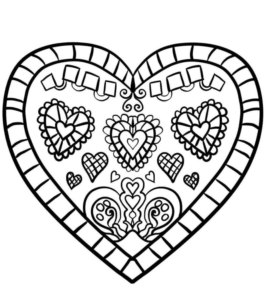 Coloring Rocks Shape Coloring Pages Heart Coloring Pages Unicorn Coloring Pages