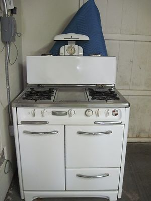 1940's Wedgewood Stove -- Antique Price Guide Details Page ...