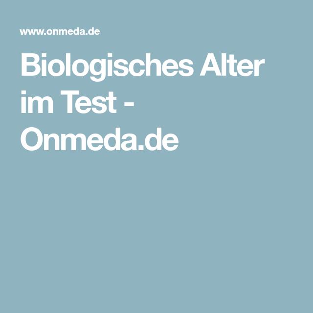 Biologisches Alter im Test  - Onmeda.de