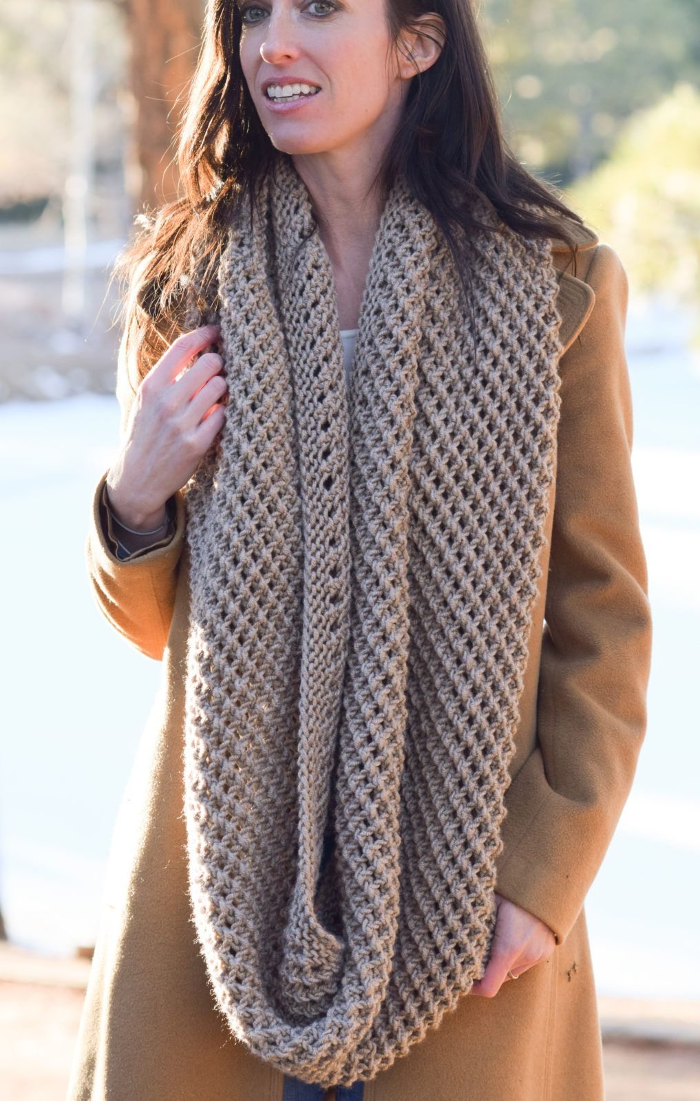 The Traveler Knit Infinicowl Scarf Pattern | Infinity ...