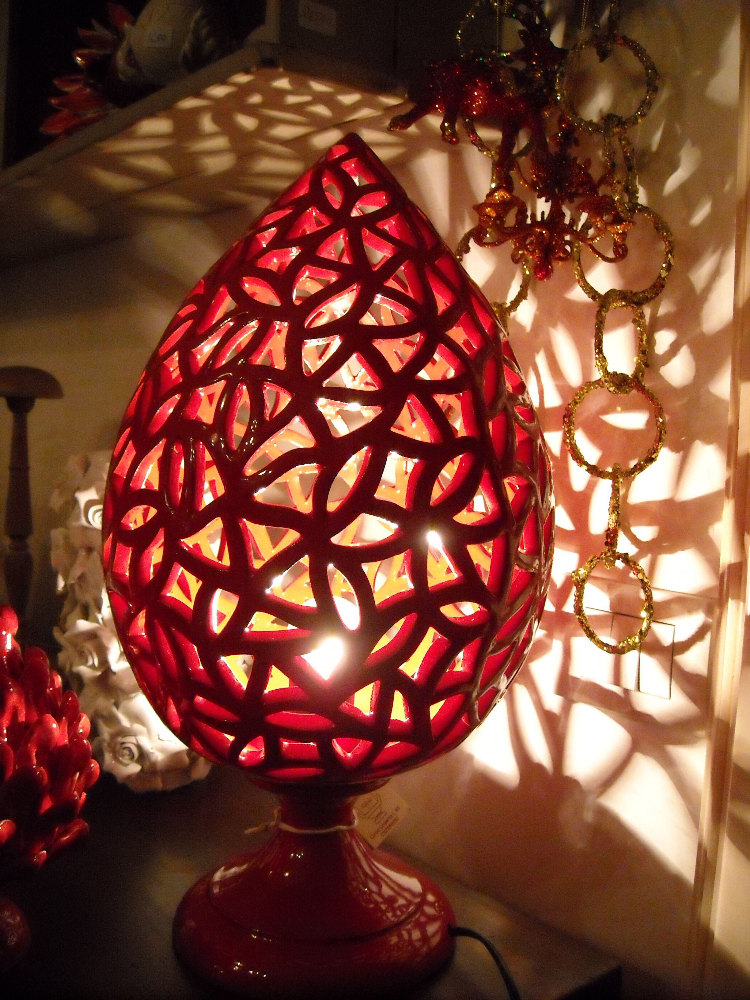Red Lamp Lampada Rossa Lampe Rouge Lampade in
