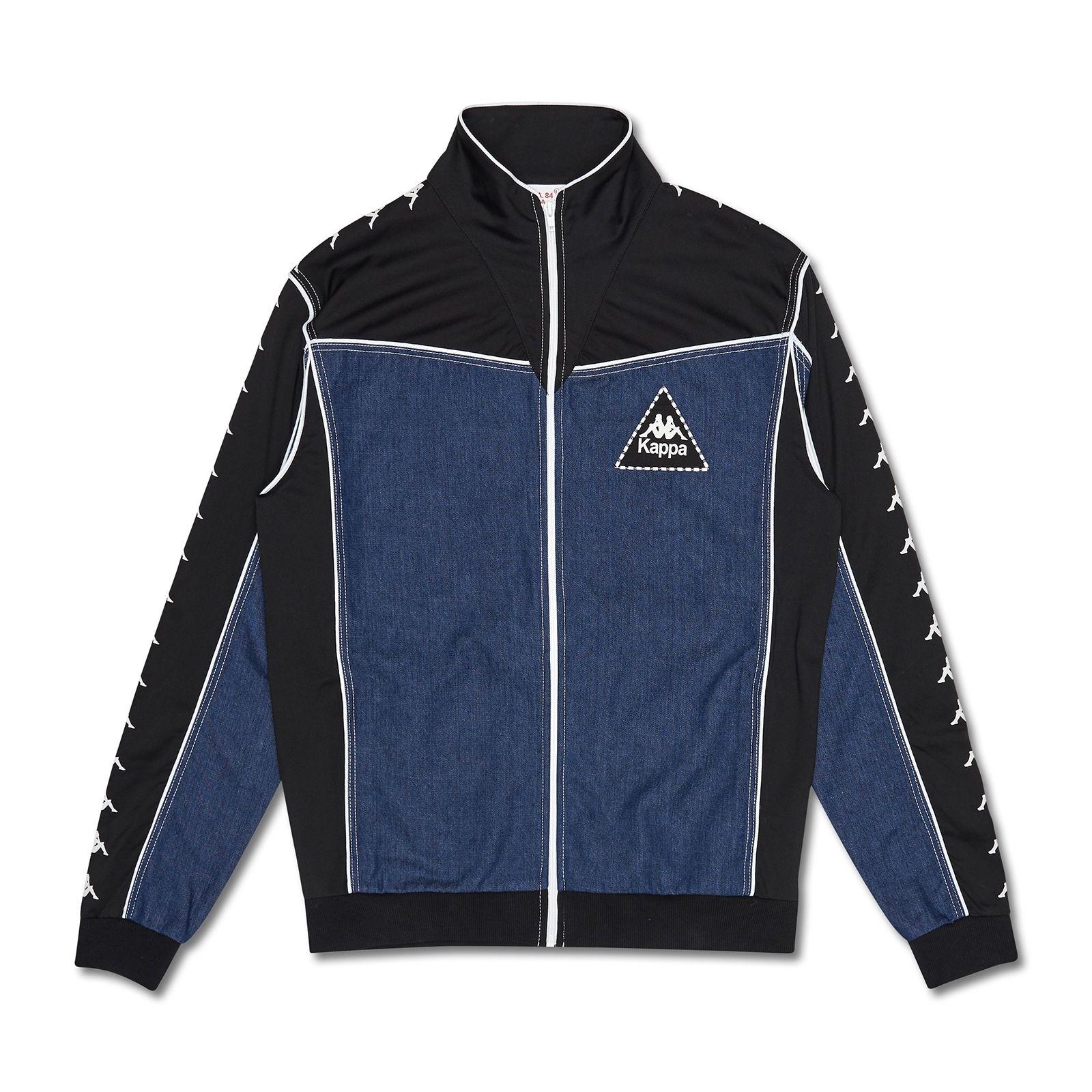 Kappa Kontroll La Denim Jacket Blue Navy | tracksuits