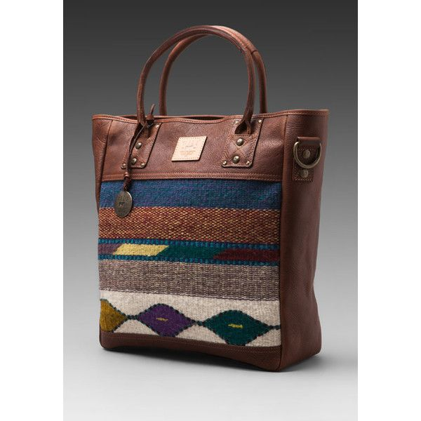 WILL Leather Goods Oaxacan Tote (3,680 HKD) found on Polyvore