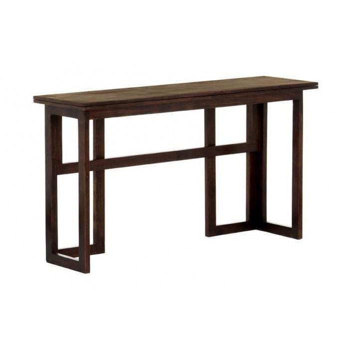 Table Console Extensible Pliante L 140 X P De Table Console Extensible Console Extensible Console