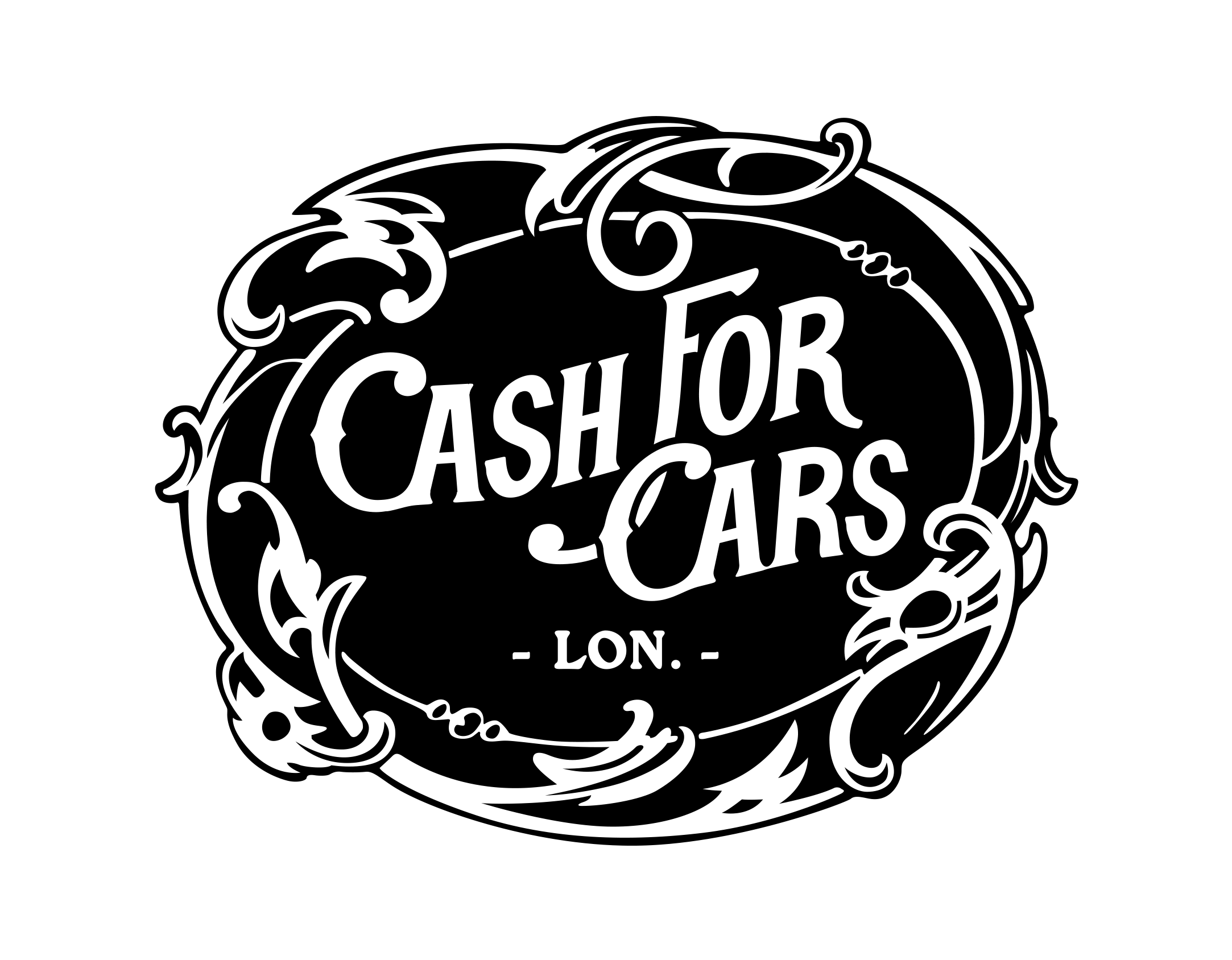 Cash For Cars - logo I did for a mate's band a very long ...