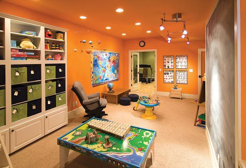 Exceptionnel 24 Child Friendly Finished Basement Designs
