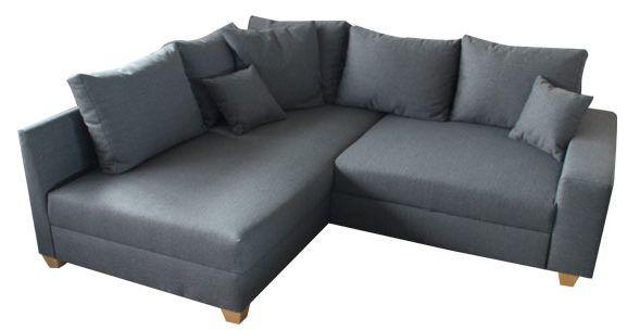 kleines ecksofa mit grauen stoff sofas to go pinterest kleines ecksofa ecksofa und stoffe. Black Bedroom Furniture Sets. Home Design Ideas