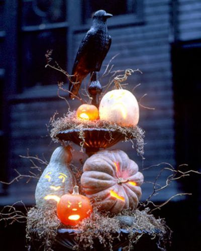 Homemade Outdoor Halloween Yard My Style Pinterest