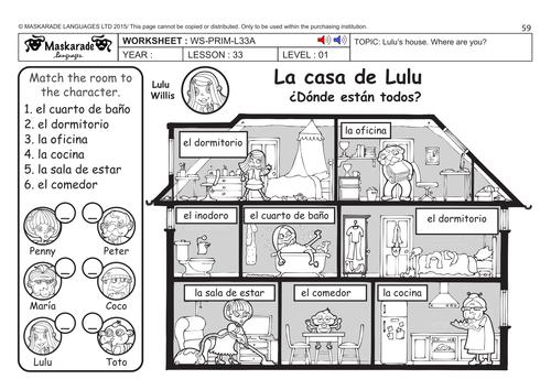 image result for spanish schedule worksheet la casa diagram schedule worksheets. Black Bedroom Furniture Sets. Home Design Ideas