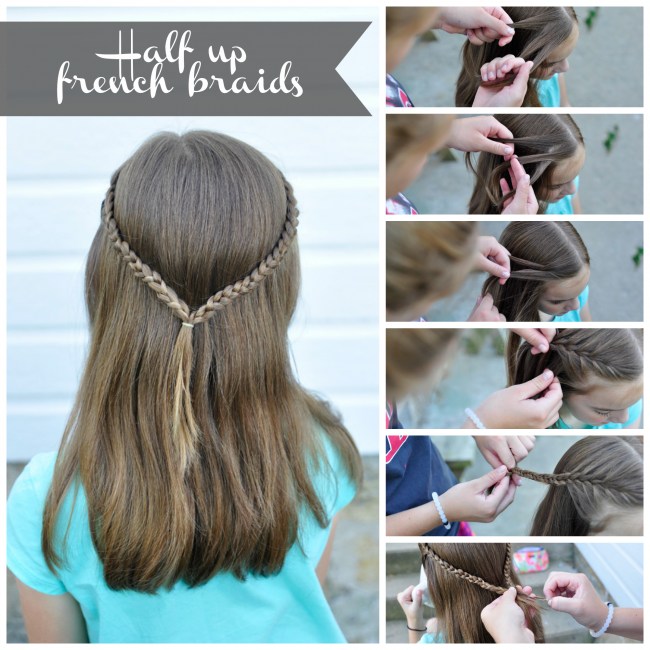 How To 3 Simple Hair Styles Your Daughter Will Love Braided Pony Simple Hairstyles And