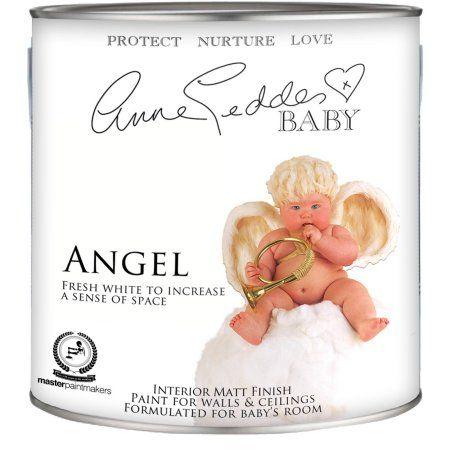 Anne Geddes Nursery Room Interior Paint, Angel White, Quart