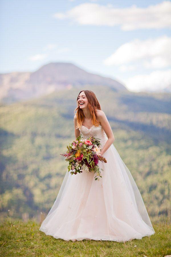 Wedding Inspiration At Purgatory Resort Dress Astrid Mercedes Provence Bridal