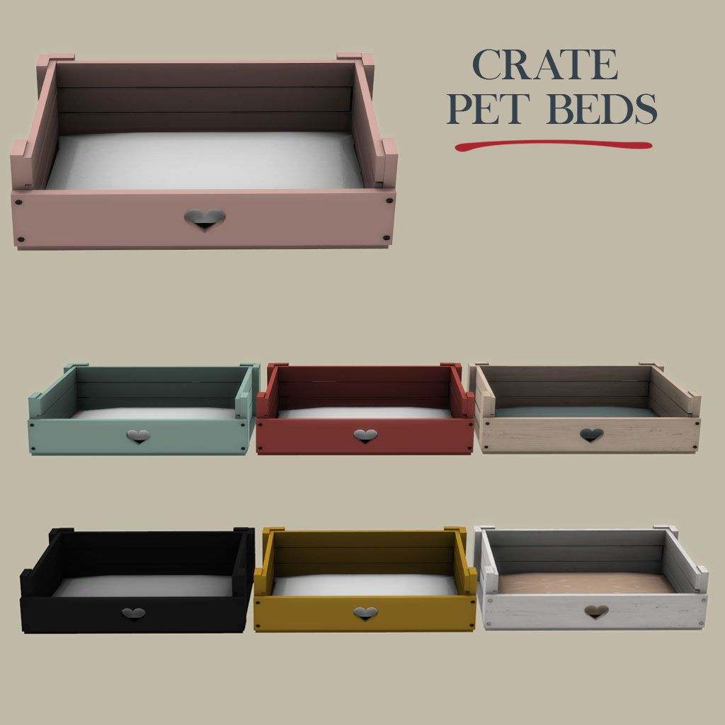 Http Leosims Com Product Crate Pet Ped Sims 4 Beds Sims Pets Sims 4 Pets