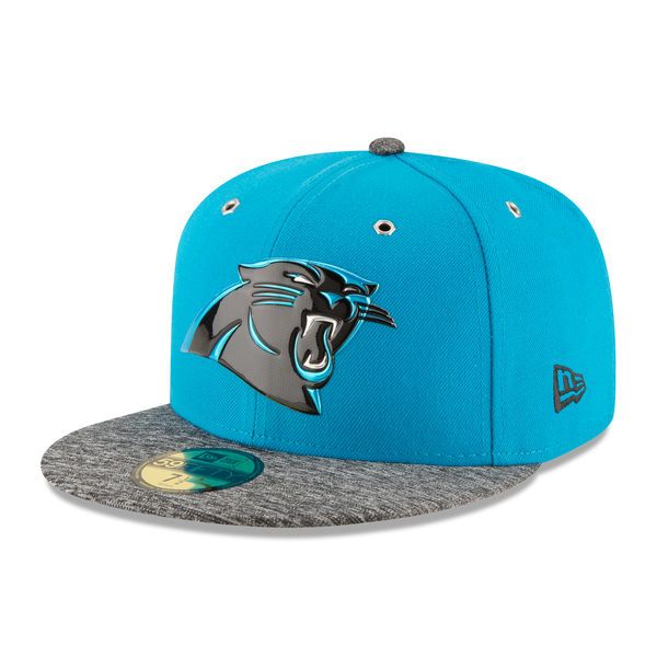 Carolina Panthers New Era On Stage 59FIFTY Fitted Hat - Blue -  36.99 56398930a28a