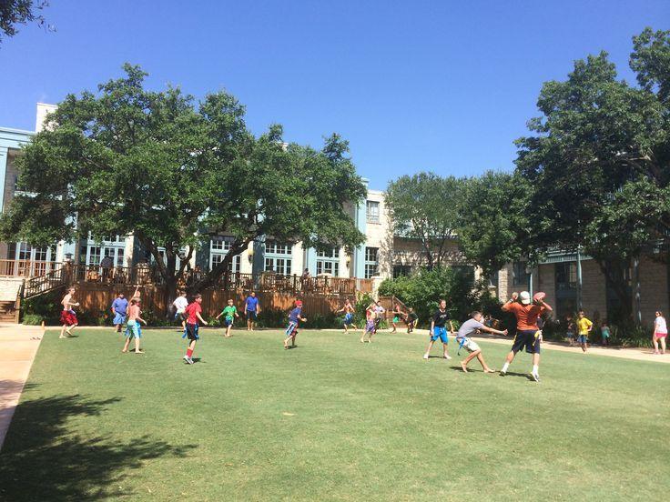 Flag Football on the Lawn at the Hyatt Regency Hill